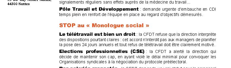 Grève au CNAM Conservatoire national des arts et métiers Pays de la Loire